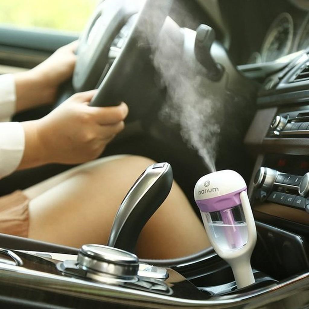Nanum 車載車充車用水氧機香薰迷你空氣淨化加濕器USB 霧化器香薰機擴香器殺菌淨化造霧