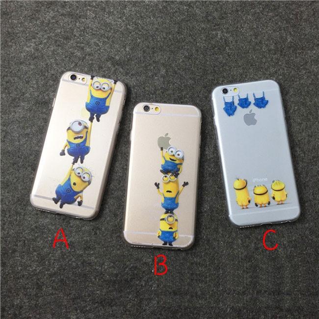 小小兵玩弄蘋果系列iPhone6 6S PLUS 5S SE 手機殼軟殼