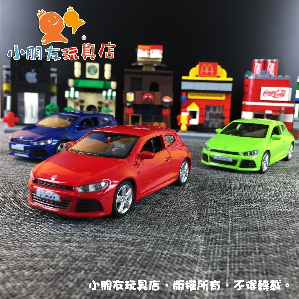 1 43 39 Volkswagen Scirocco A6R 福斯合金車小朋友玩具店47