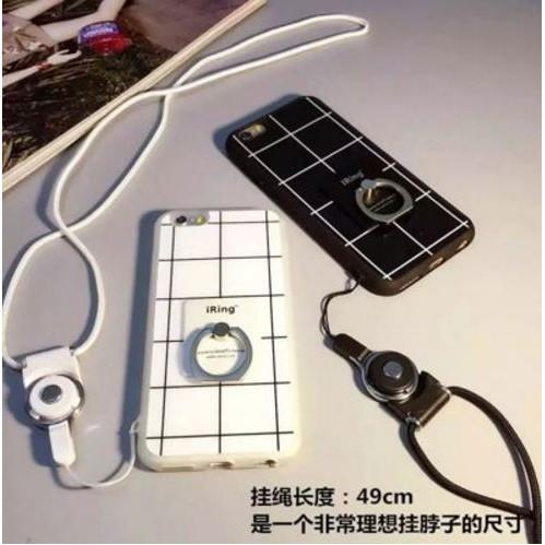 韓國格子簡約潮流蘋果i phone 6 6s 6plus i6 i6plus 手機殼保護套