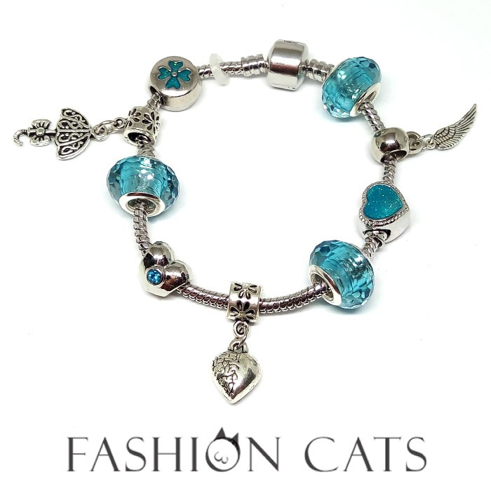 美貓✨愛情誓言A14 ✨ 正夯韓風與潘朵拉同款串珠DIY 琉璃璀璨精緻手環手鍊