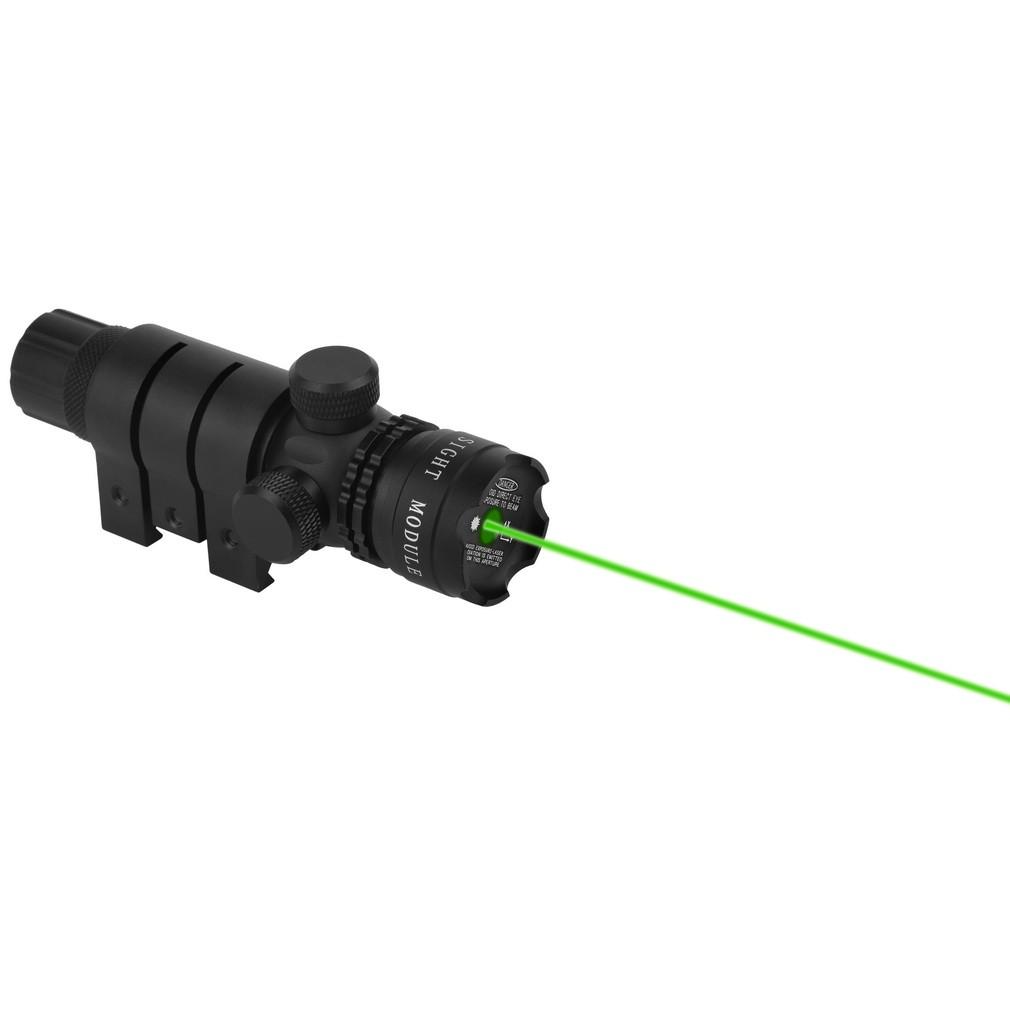 现货強力綠點雷射光雷射綠雷射瞄具定標器求生燈瞄準器老鼠尾綠雷