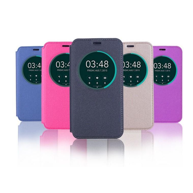 ASUS ZenFone 3 ZE552KL ZE520KL 智能視窗隱型磁扣可立式開皮套