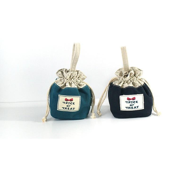 原創布藝抽繩束口包~Miioi 麋貳屋~束口袋收納包手拎帆布包袋
