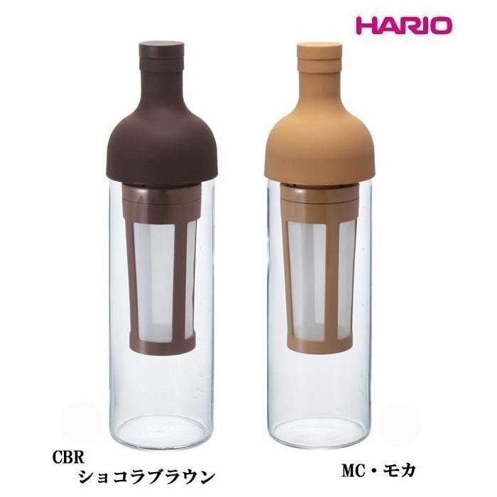 鉅咖啡 HARIO 酒瓶式冰釀冷泡咖啡壺700ml 焦糖色、咖啡色FIC 70
