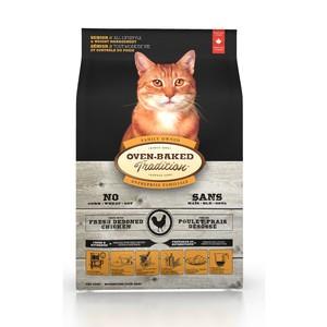 貓╭~烘焙客Oven Baked ~雞肉魚肉口味~成貓配方5 磅2 3kg