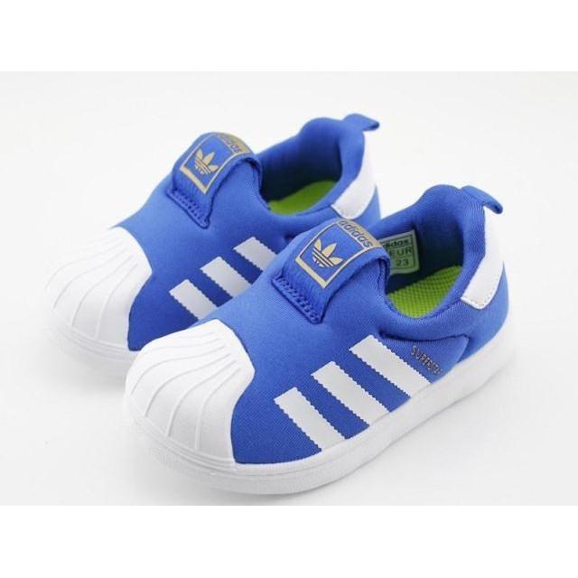 Adidas 童鞋軟底童鞋寶寶鞋貝殼頭愛迪達童鞋懶人鞋貝殼兒童款多色選