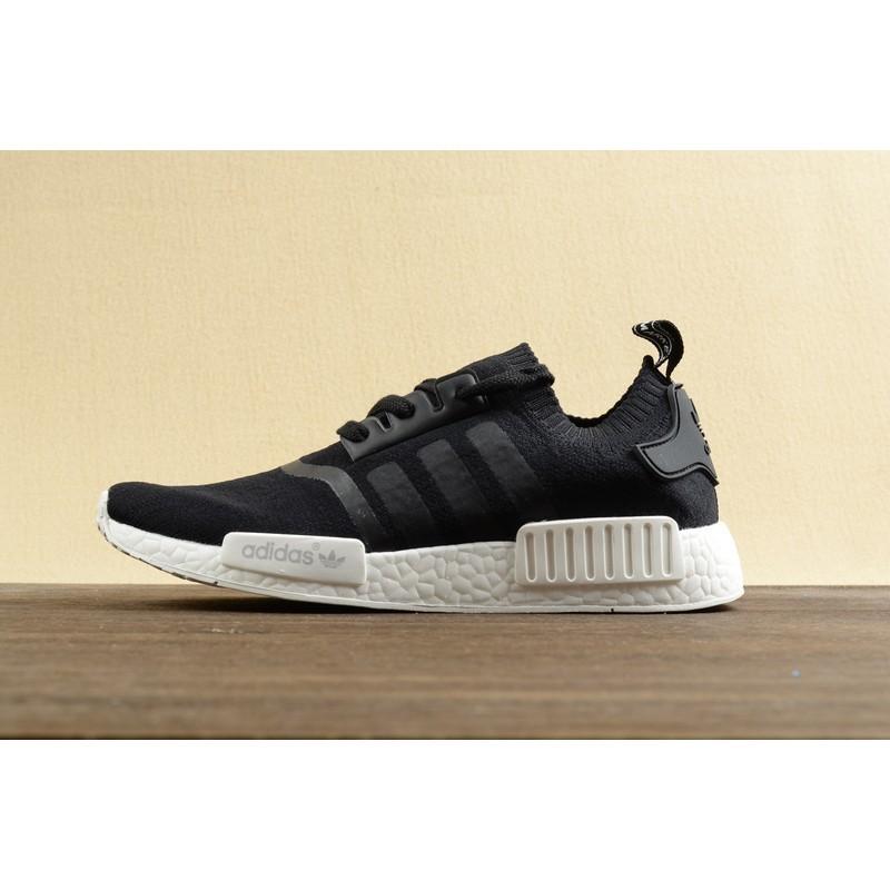~ ~ 直發Adidas NMD Runner Boost 黑白跑鞋男鞋 輕便透氣慢跑鞋余