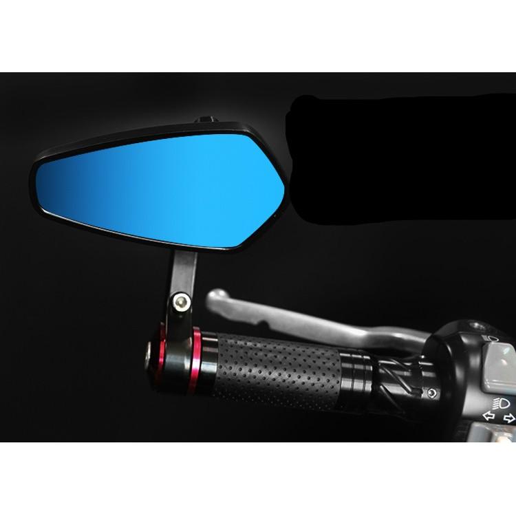摩托車 改裝復古手把倒車鏡反光鏡後照鏡後視鏡全鋁