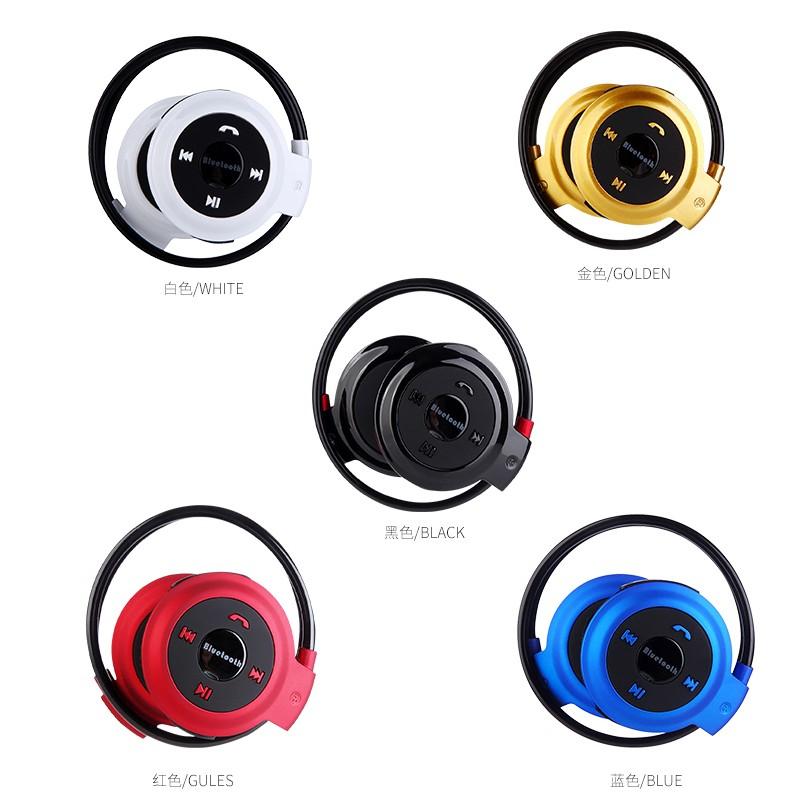 Y335 藍芽耳機mini503 藍芽插卡fm 廣播一對二免持通話健身房音樂line 聊天