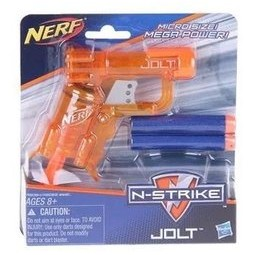 ~購皮~ NERF JOLT 冰橙N STRIKE elite 菁英彈夾彈匣組小槍水彈槍子
