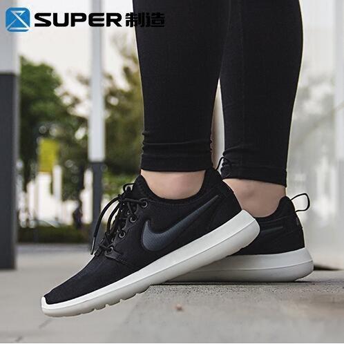 Nike Roshe Two 耐吉男鞋奧運倫敦 跑步鞋女鞋黑白灰情侶 鞋休閒跑步鞋慢跑鞋網