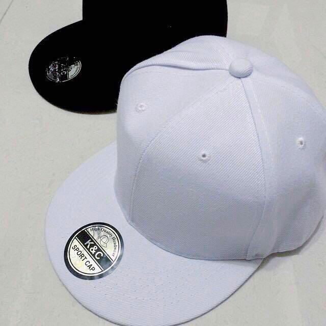 不用等素色挺版型韓國棒球帽帆布