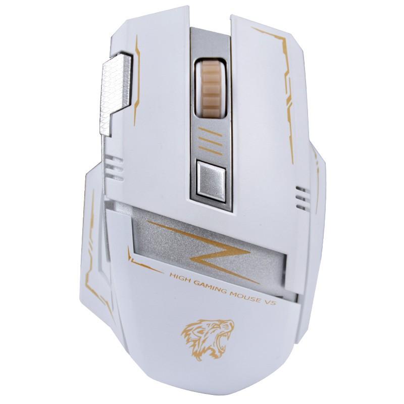 霸氣側漏KEVE A8 再無需換電池可充電高端無線鼠標無聲靜音