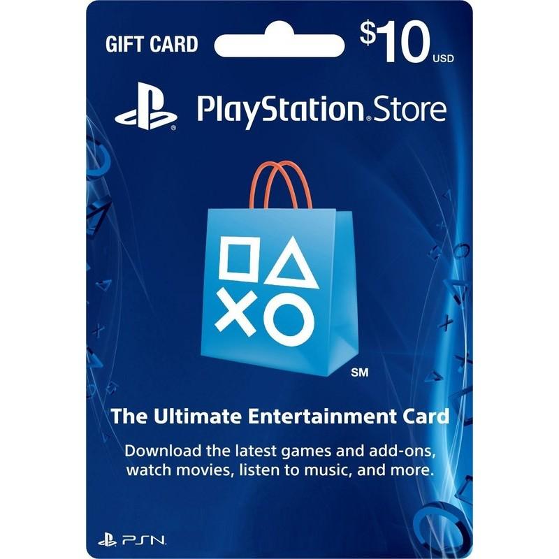 ~10 美金~美國 儲值卡PS3 PS4 PS Vita Playstation Netw