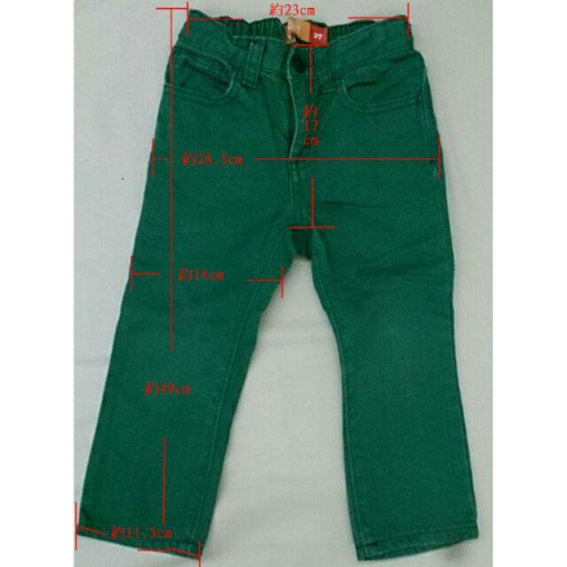 Old navy 2T 2A 綠色 牛仔褲Skinny 系列