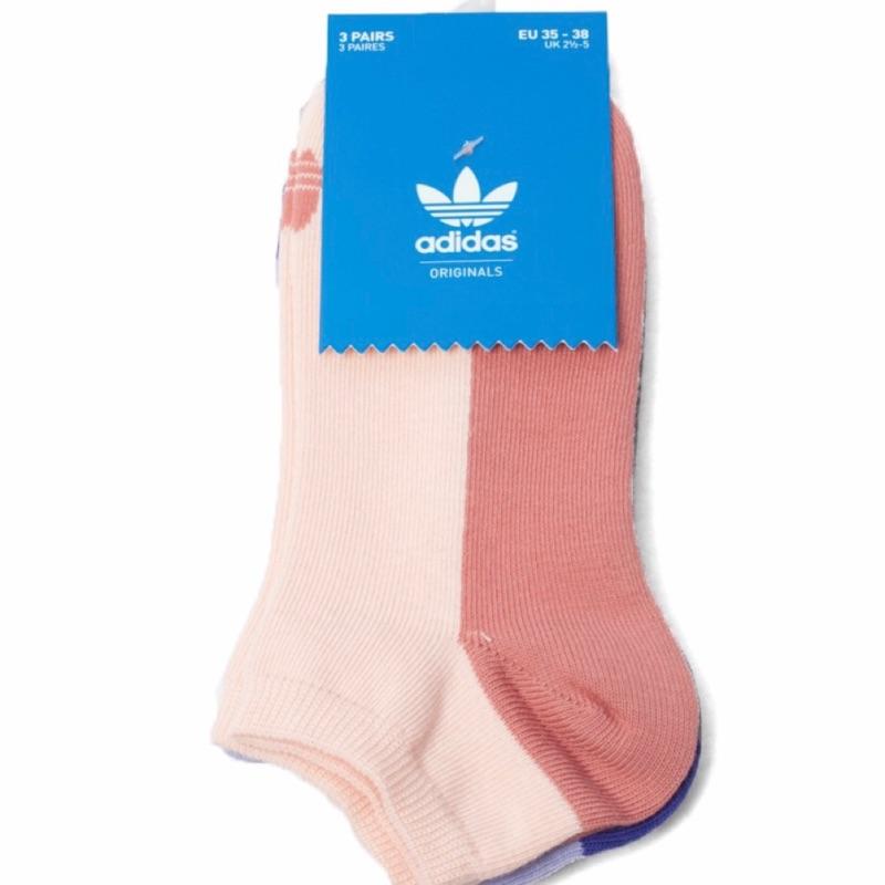CF Adidas Originals 愛迪達三葉草短襪三入一組
