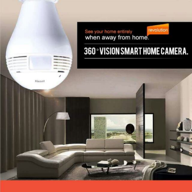 360 °360 度燈泡型隱藏式攝影機、 監視器、手機監控、免拉線、免主機、錄影取證、球泡