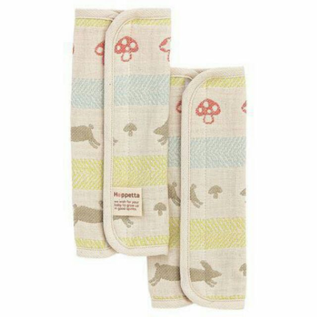 ~Hoppetta ~六層紗童趣森林小兔蘑菇背巾口水巾