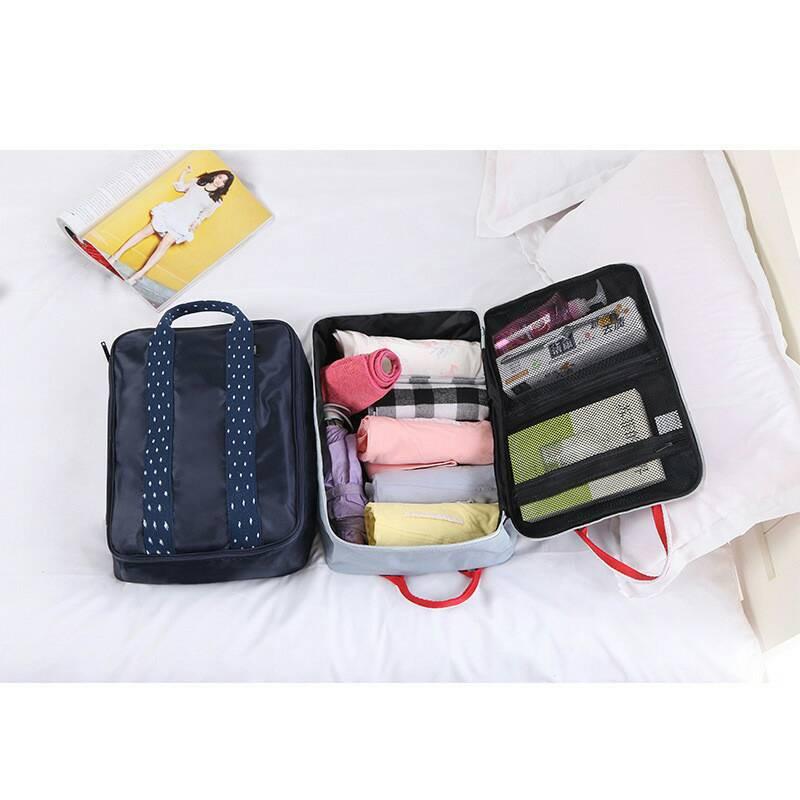 拉桿行李袋 拉桿登機行李袋拉桿包登機包旅行登機包行李袋行李箱三用旅行袋分類袋防水包
