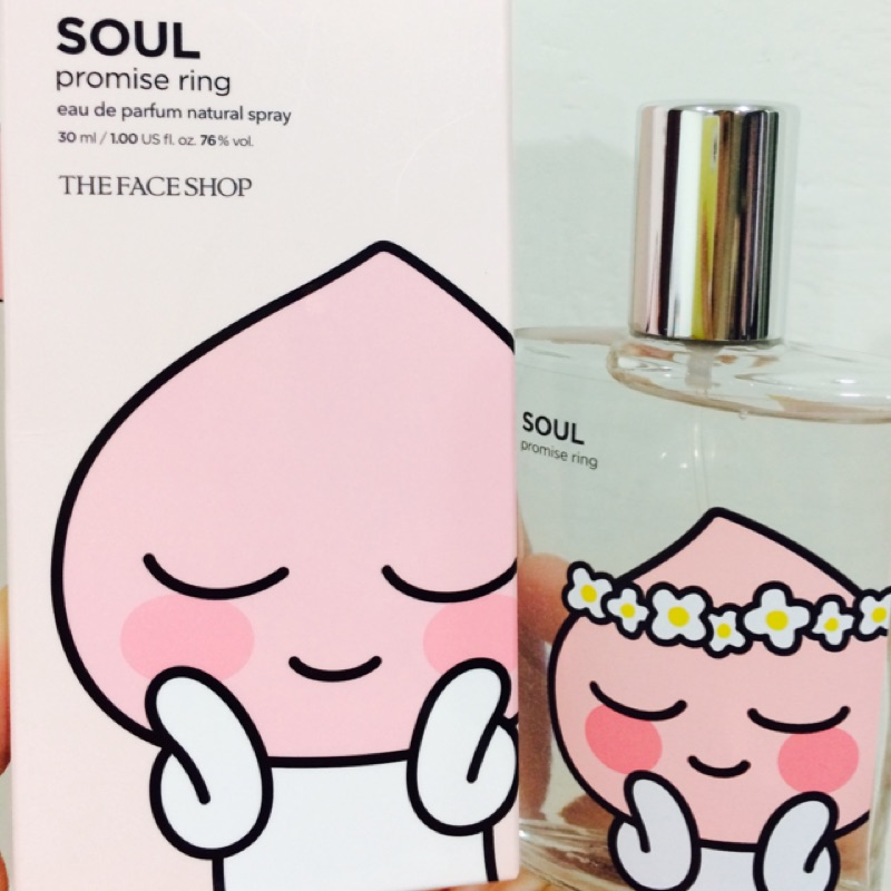 ✨KAKAO FriendsXThe face shop 聯名香水Apeach 30ml