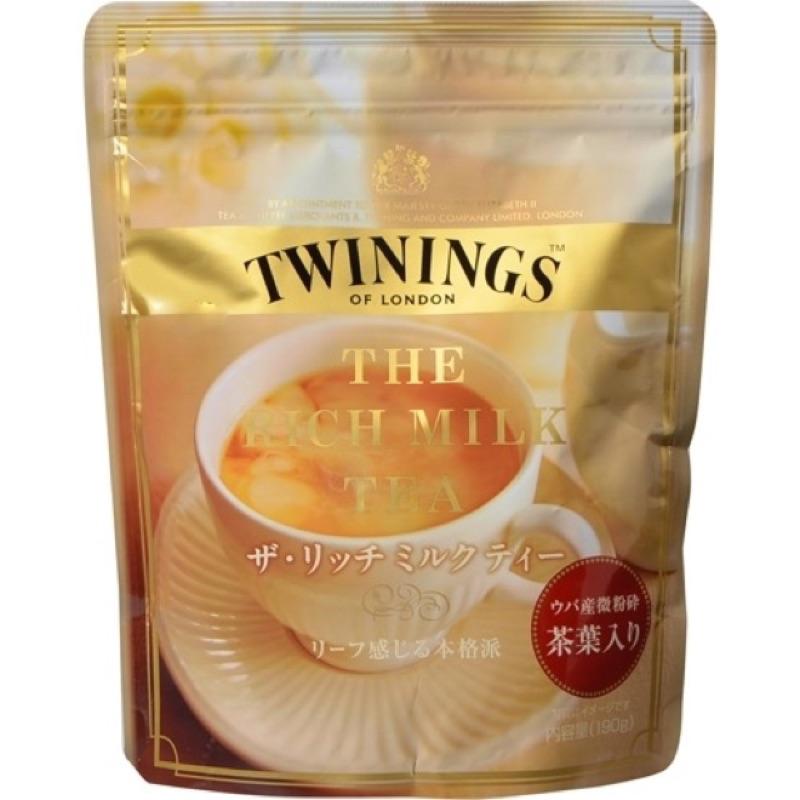 免等~晴空果子坊~ 片岡TWINING 奶茶袋190g 片岡奶茶