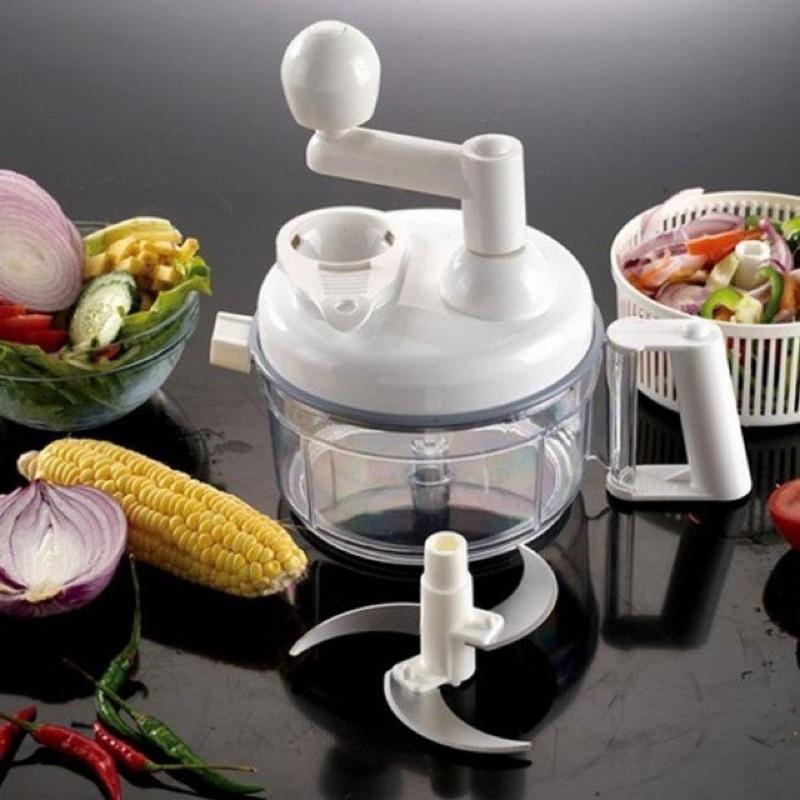 ~ 博士~手搖式切菜器多 切菜機絞碎器脫水機攪拌器料理器料理機副食品易拉轉拉霸鍋寶好神切
