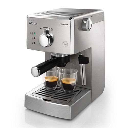 貨下殺 殺PHILIPS 飛利浦Saeco POEMIA 家用半自動義式咖啡機HD8327
