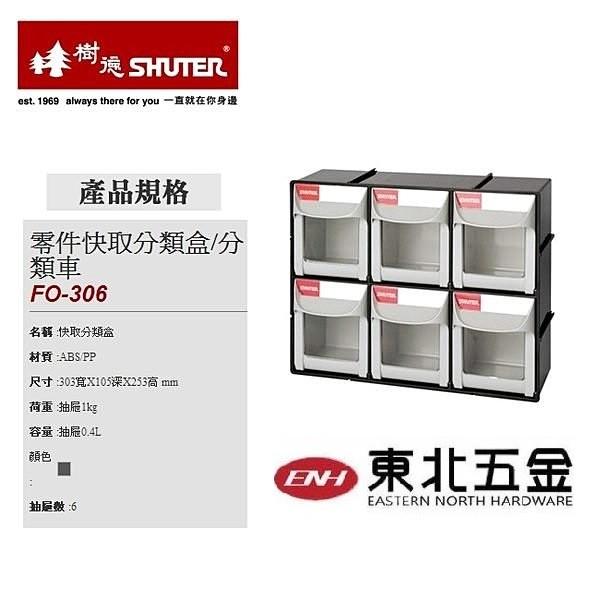 東北 樹德BC01018 FO 306 零件快取分類盒件箱工具櫃整理盒