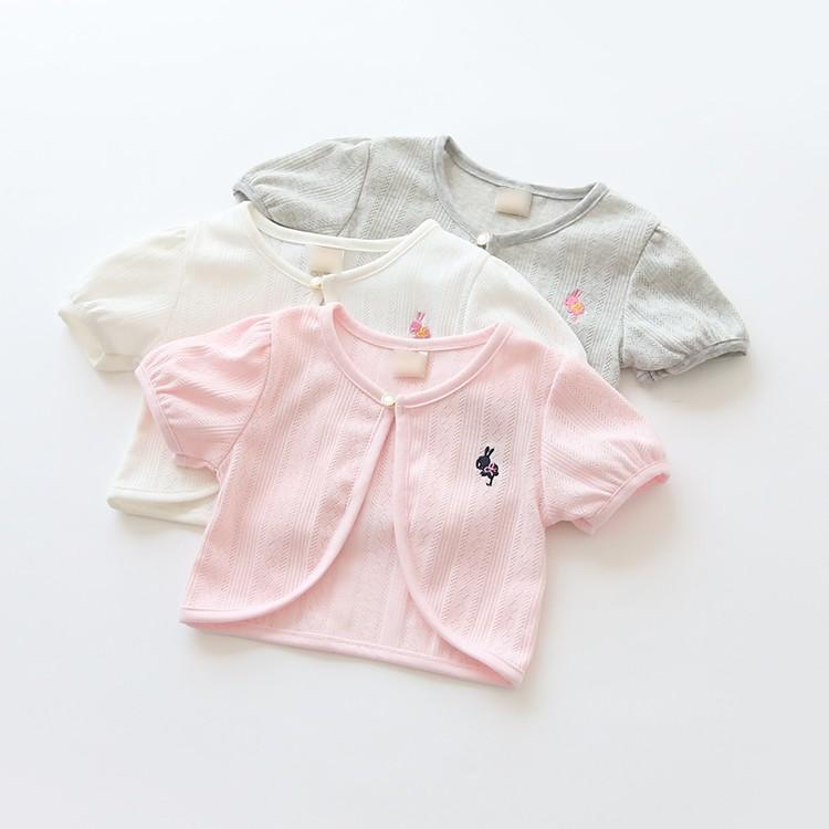 花童 兔兔繡花小罩衫88008088