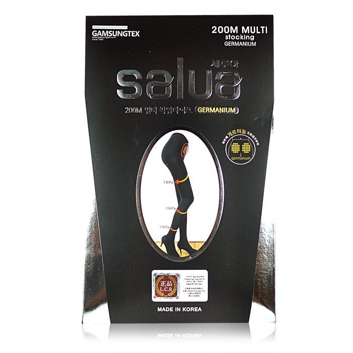 韓國SALUA 鍺石顆粒溶脂壓力連身褲襪one size