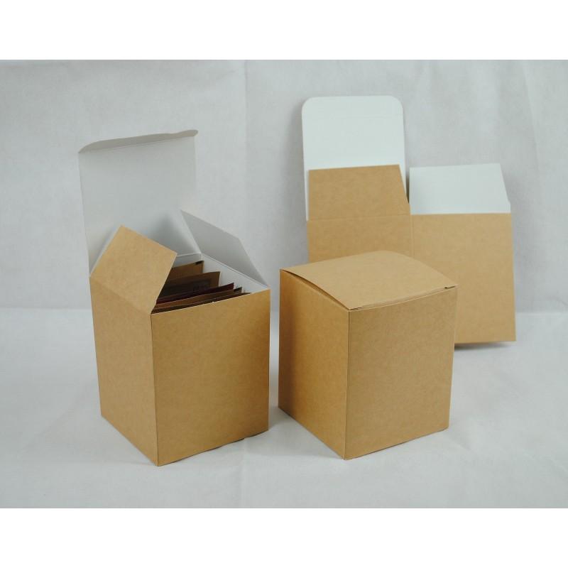 牛皮紙盒_ 掛耳咖啡外盒_ 好_ 有硬度_ 可裝10 包濾泡式掛耳咖啡袋CandyMan