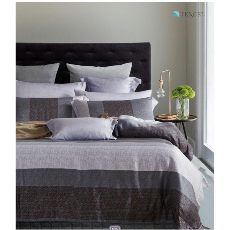 100 天絲TENCEL 七件式床罩組雙人加大特大,送 手提箱