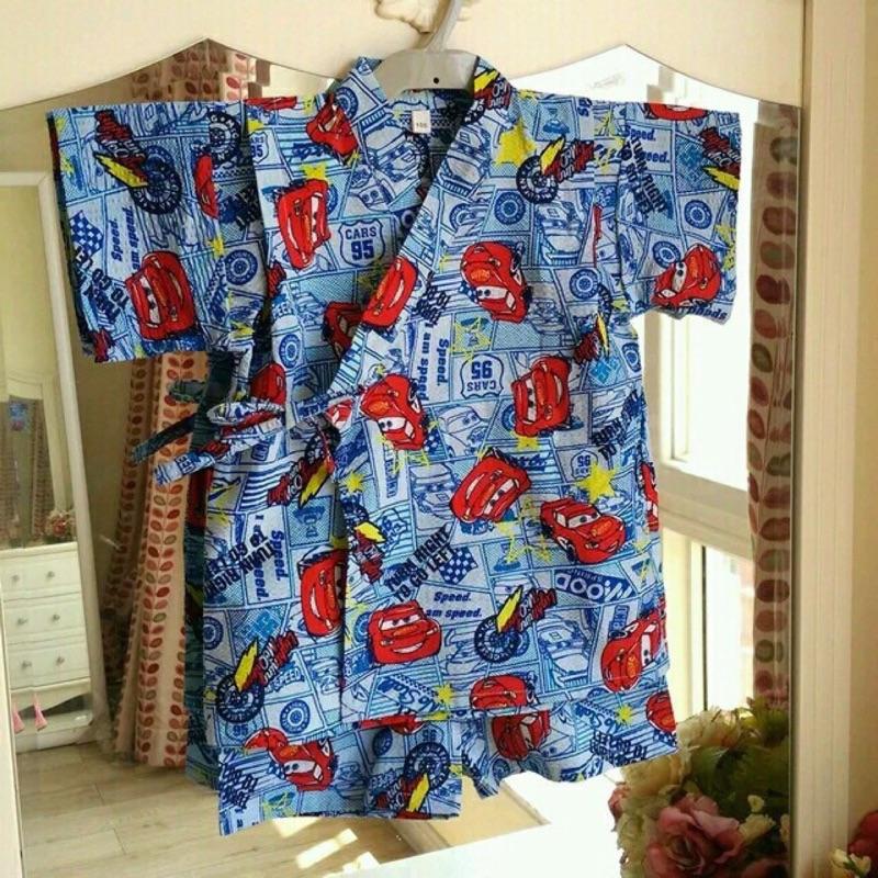 和服,兒童浴衣,甚平和服,日式和服, ,浴衣, 原單,寶寶,兒童,童,甚平,睡衣,泡泡紗