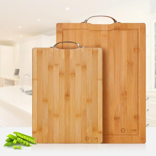 菜板天然楠竹砧板大號案板抗菌加厚長方形刀板實木擀麵板切菜板