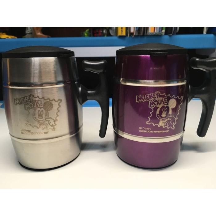 迪士尼米奇 不鏽鋼保溫杯對杯250ML 附蓋