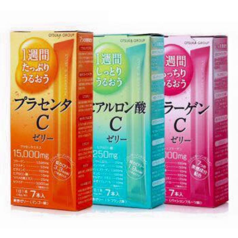 OTSUKA GROUP 膠原蛋白果凍31 入(一個月份)