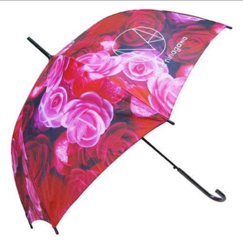 ( )蜷川實花聯名款花艷盛放晴雨傘