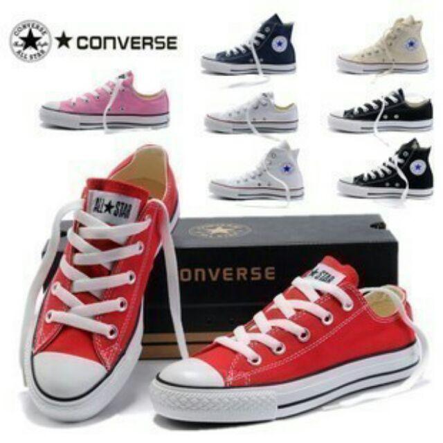 Converse 匡威鞋匡威硫化鞋All Star 高筒低筒高幫低幫帆布鞋情侶鞋男鞋女鞋