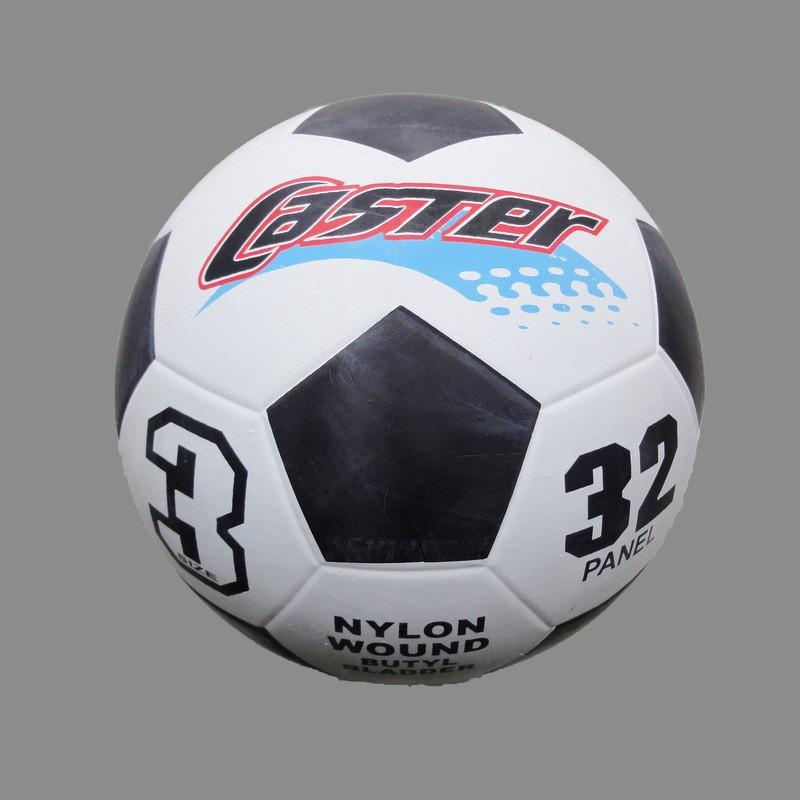 小港3C ~一年保~CASTER 3 號足球白黑~18 19 公分~小學足球 足球室外足球