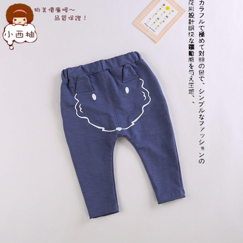 寶寶衣服小孩褲子小男童女童長褲 純棉外出服休閒童褲