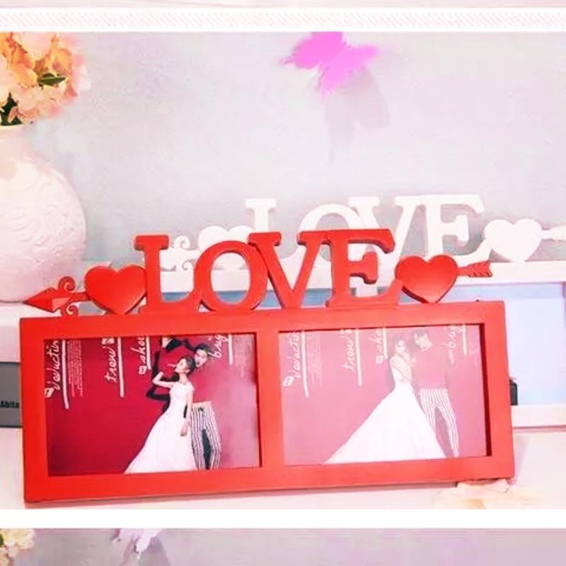 免 ~LOVE 相框桌上型相框婚禮佈置相框