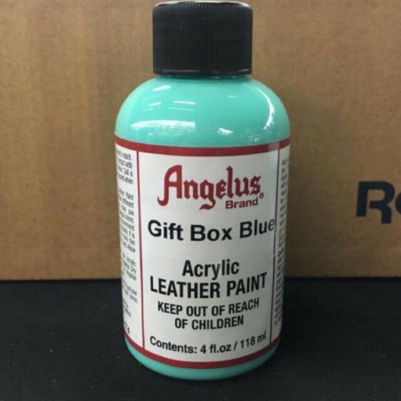 改鞋歸正Angelus Gift box blue 湖水綠四盎司一盎司分裝