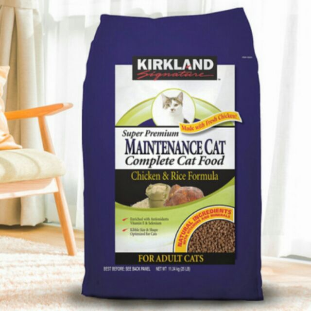 Kirkland 科克蘭雞肉米配方乾貓糧11 34 公斤好市多 宅配到府免
