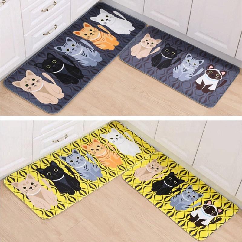 ⭐  ❗❗❗半進門入戶門墊腳墊浴室防滑墊卡通衛生間地墊臥室客廳地毯踏墊JI0117