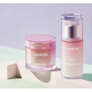 韓國美妝 LANEIGE 蘭芝莓果優格角質軟化面膜角質軟化精華