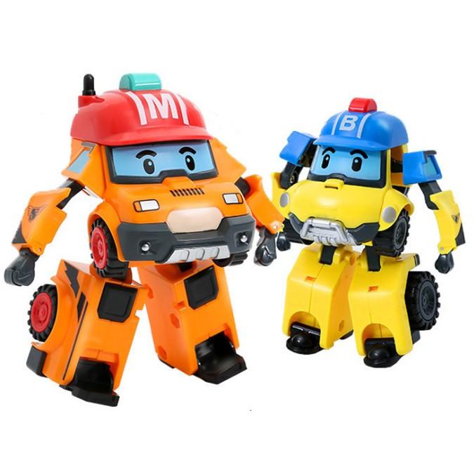 Poli 救援小隊馬克巴奇變形機器人變形車