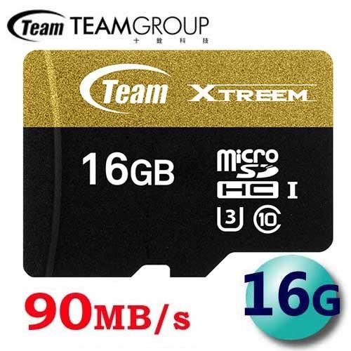 含稅附發票90MB s 終保Team 十銓16G 16GB Xtreem microSD