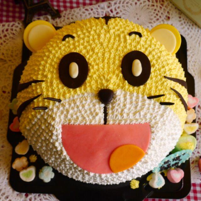巧虎大頭 蛋糕