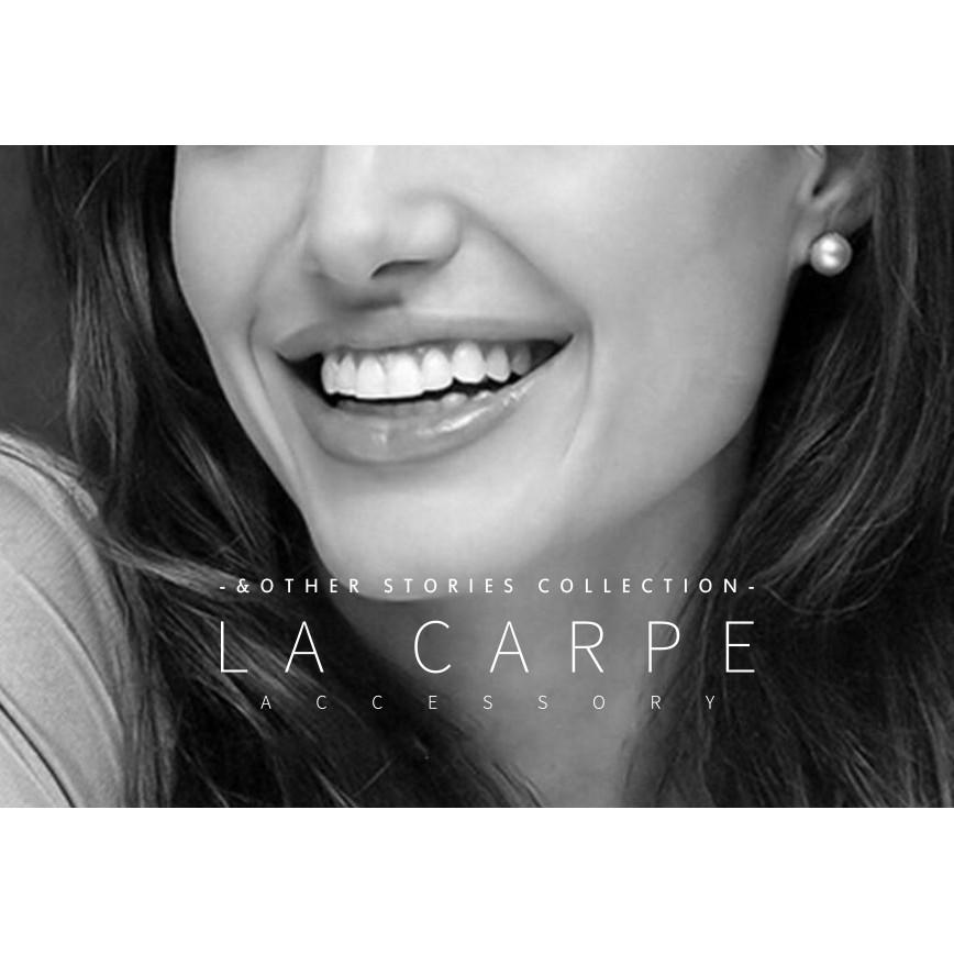 LaCarpe Other Stories 系列珍珠耳環少女ASOS 夾式無耳洞~COS0